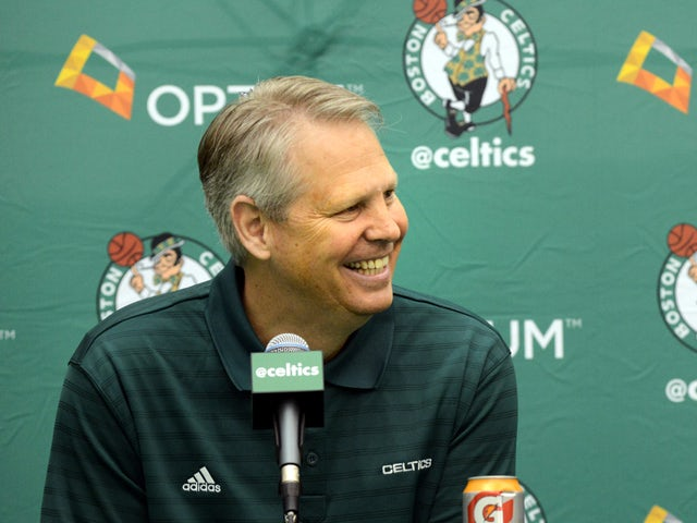 Danny Ainge of the Boston Celtics on July 5, 2013