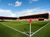 A general view of Ashton Gate ahead of the Sky Bet League One match between Bristol City and Chesterfield at Ashton Gate on October 11, 2014
