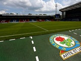 A general view of inside the ground before the Pre Season Friendly match between Blackburn Rovers and Everton FC at Ewood Park on July 27, 2013