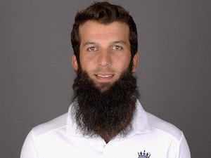 Moeen Ali at an England portrait session in May 2015