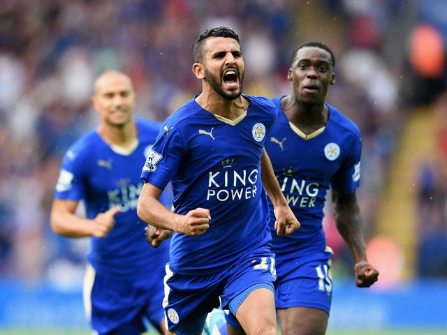 Result: Mahrez stunner earns Leicester a draw