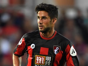 Andrew Surman of Bournemouth in action during a Pre Season Friendly between AFC Bournemouth and Cardiff City at Vitality Stadium on July 31, 2015 in Bournemouth, England.