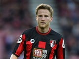 Eunan O'Kane of Bournemouth in action during a Pre Season Friendly between AFC Bournemouth and Cardiff City at Vitality Stadium on July 31, 2015