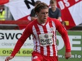 Josh Windass of Accrington Stanley in action during the Sky Bet League Two match between Accrington Stanley and Northampton Town at The Wham Stadium on August 29, 2015 in Accrington, England.