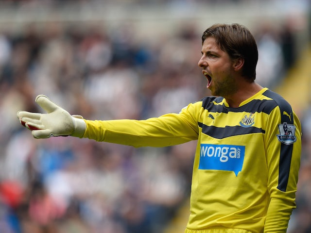 Newcastle goalkeeper Tim Krul makes Brighton loan move permanent