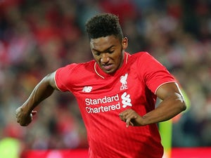 Gomez, Wijnaldum train with Liverpool