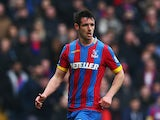 Scott Dann of Crystal Palace in action during the Barclays Premier League match between Crystal Palace and Queens Park Rangers at Selhurst Park on March 14, 2015