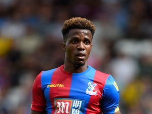 Wilfried Zaha 'out for one month'