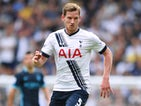 Jan Vertonghen of Tottenham Hotspur in action during the Barclays Premier League match between Tottenham Hotspur and Manchester City at White Hart Lane on September 26, 2015 in London, United Kingdom.