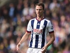 Jonny Evans of West Bromwich Albion in action during the Barclays Premier League match between Crystal Palace and West Bromwich Albion at Selhurst Park on October 3 , 2015