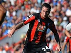 Lee Tomlin of A.F.C. Bournemouth during the Barclays Premier League match between A.F.C. Bournemouth and Sunderland at the Vitality Stadium on September 19, 2015 in Bournemouth, United Kingdom.
