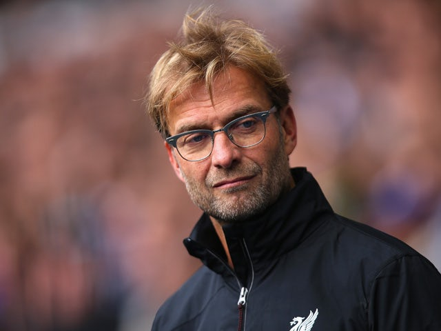 Jurgen Klopp, manager of Liverpool looks on prior to the Barclays Premier League match between Tottenham Hotspur and Liverpool at White Hart Lane on October 17, 2015