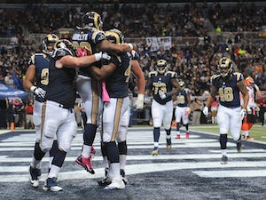 Half-Time Report: Rams leading struggling Ravens