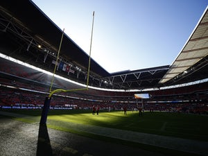 Sunlight bursts through the stadium prior to kick off during the NFL game between Kansas City Chiefs and Detroit Lions at Wembley Stadium on November 01, 2015 in London, England.