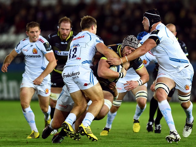 Result: Ospreys edge past Exeter Chiefs