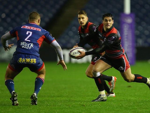 Result: Edinburgh clinch comfortable win over Agen