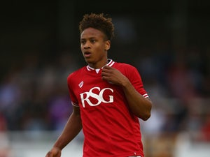 Bobby Reid of Bristol City during the Pre Season Friendly match between Bath City and Bristol City at Twerton Park on July 10, 2015