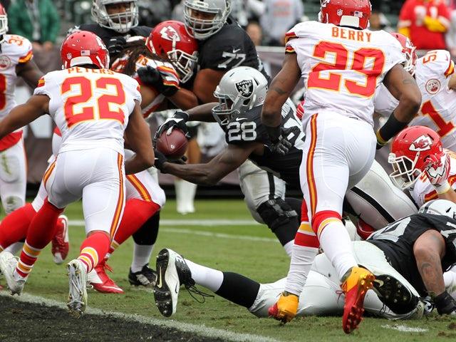 Result: Late Kansas City charge stuns Raiders