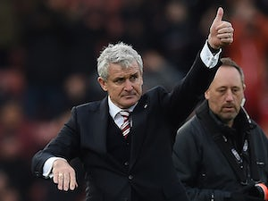 Mark Hughes praises referee's display