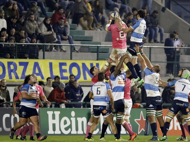 Result: First half helps Stade overcome Treviso