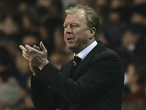 Newcastle United's English head coach Steve McClaren applauds on the touchline during the English Premier League football match between Tottenham Hotspur and Newcastle United at White Hart Lane in north London on December 13, 2015.