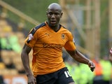 Benik Afobe in action for Wolves on October 24, 2015