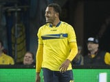 Kenneth Zohore in action for Brondby in May 2014