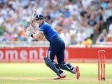 Alex Hales in action during the final ODI between South Africa and England on February 14, 2016
