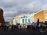 Fans arrive at Stamford Bridge prior to the FA Cup game between Chelsea and Manchester City on February 20, 2016