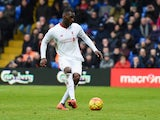 Christian Benteke scores a winning penalty during the Premier League game between Crystal Palace and Liverpool on March 6, 2016