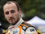 Robert Kubica in the regrouping of Corte during day one of the WRC France on October 2, 2015