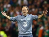 Republic of Ireland manager Martin O'Neill asks 'Is it bigger than a bread bin?' during his side's Euro 2016 qualifier with Germany.