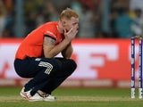 Ben Stokes is in need of a hug from a thirsty Midlander after the World Twenty20 final between England and the West Indies at Eden Gardens on April 3, 2016