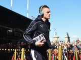 Jamie Vardy rocks up for the Premier League game between Sunderland and Leicester City on April 10, 2016
