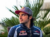 Carlos Sainz of Toro Rosso during previews ahead of the Formula One Grand Prix of Russia at Sochi Autodrom on April 28, 2016