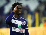 Idrissa Sylla in action for Anderlecht in November 2015