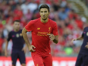 Marko Grujic in action for Liverpool on August 6, 2016