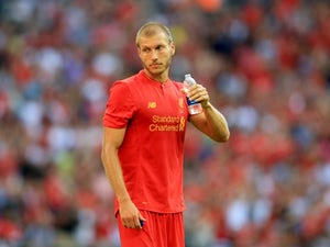 Ragnar Klavan in action for Liverpool on August 6, 2016