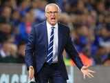 Leicester City manager Claudio Ranieri yells instructions during his side's 1-0 win over Porto in Group G of the Champions League on September 27, 2016