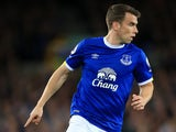 Everton full-back Seamus Coleman in action during his side's 1-1 draw with Crystal Palace at Goodison Park on September 30, 2016