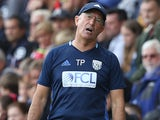 Baggies boss Tony Pulis reacts on September 10, 2016