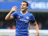 Chelsea winger Pedro in action against Leicester City during their Premier League clash at Stamford Bridge on October 15, 2016