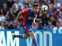 Crystal Palace defender Scott Dann in action during the 1-1 Premier League draw with Bournemouth at Selhurst Park on August 27, 2016