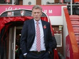 Sunderland manager David Moyes looks on prior to his side's Premier League clash with Bournemouth at the Vitality Stadium on November 5, 2016
