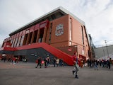 A general shot of the new Main Stand at Anfield ahead of Liverpool's Premier League clash with Watford on November 6, 2016
