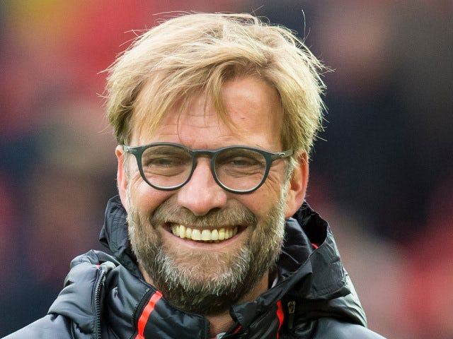 Liverpool manager Jurgen Klopp watches on during the Premier League clash with Watford at Anfield on November 6, 2016