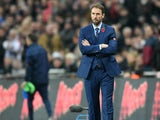 Interim England manager Gareth Southgate on the touchline during his side's World Cup qualifier against Scotland at Wembley on November 11, 2016