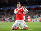 Arsenal playmaker Mesut Ozil in action during his side's Champions League clash with Ludogorets Razgrad at the Emirates Stadium on October 19, 2016