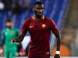 Antonio Rudiger in action during the Europa League game between Roma and Viktoria Plzen on November 24, 2016