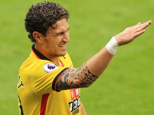 Daryl Janmaat in action for Watford on August 27, 2016